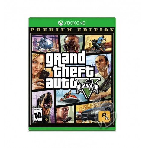 Grand Theft Auto V Premium Online Edition RU