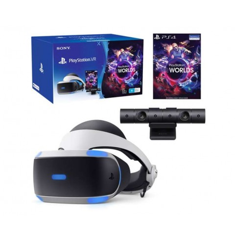 Комплект Playstation VR + Playstation Camera + VR Worlds