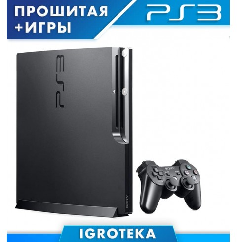 Sony PlayStation 3 Slim 250GB + 12 Хоррор игр