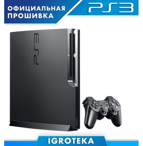 PS3 SLIM 500GB + Топ 30 Игр
