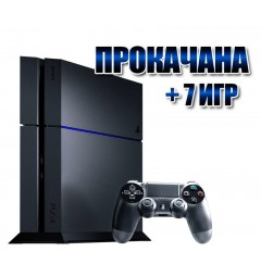 PlayStation 4 БУ FAT 500 Gb + 7 игр (#150)