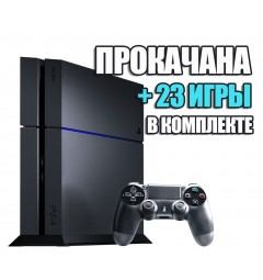PlayStation 4 FAT 1TB (Б/У) + 23 игры #227