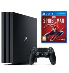 PlayStation 4 PRO 1 Tb + игра Marvel's Spider-Man