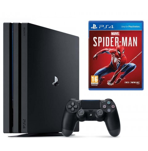 PlayStation 4 PRO 1 Tb + диск Marvels Spiderman НЕТ В НАЛИЧИИ
