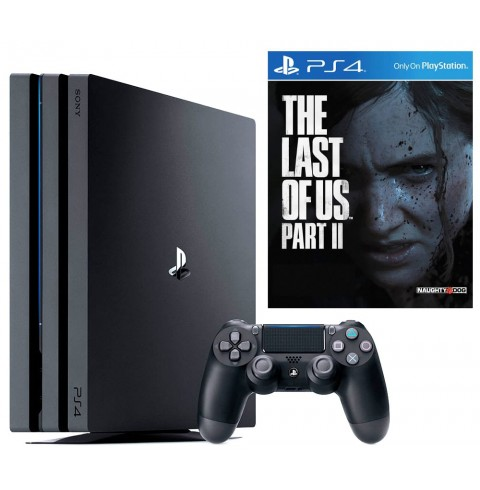 PlayStation 4 PRO 1TB + ИГРА THE LAST OF US PART II