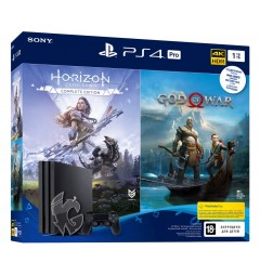PlayStation 4 PRO 1TB Bundle + God Of War + Horizon Zero Dawn Complete Edition