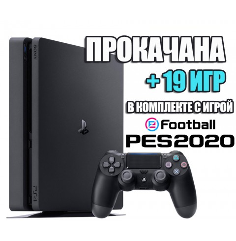 PlayStation 4 SLIM 1 TB + 19 игр #205