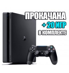 PlayStation 4 SLIM 1 TB + 20 игр #339