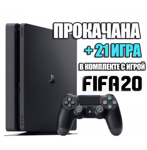 PlayStation 4 SLIM 1 TB + 21 игра #203