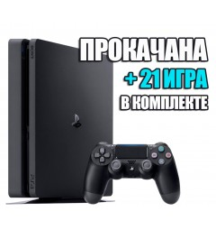 PlayStation 4 SLIM 1 TB + 21 игра #338