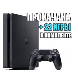 PlayStation 4 SLIM 1 TB + 22 игры #335