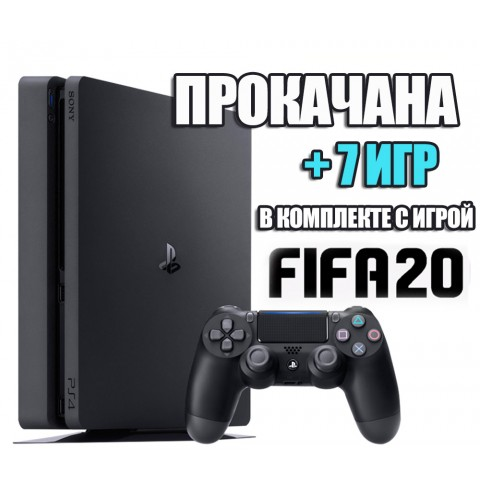 PlayStation 4 SLIM 500 Gb + 7 игр #189