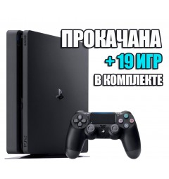 PlayStation 4 SLIM 1 TB +  19 игр  (#128)