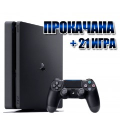 PlayStation 4 SLIM 1 TB +  21 игрa  (#126)