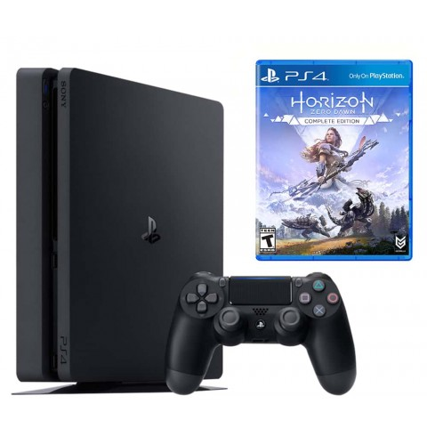 PlayStation 4 Slim 500 Gb + диск Horizon Zero Dawn: Complete Edition