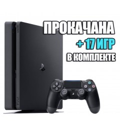 PlayStation 4 SLIM 1 TB + 17 игр #229
