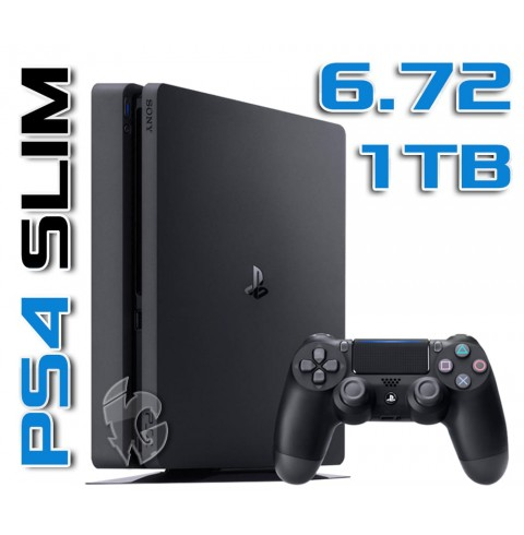 PlayStation 4 Slim 1 TB - ПРОШИВКА 6.72