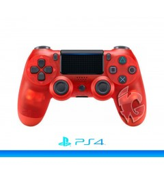 Sony DualShock 4 v2 (Transparent Red)