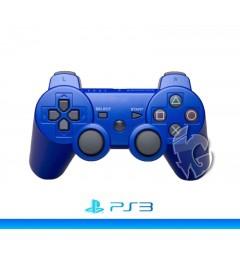 Беспроводной контроллер для PS3 (Metalic Blue)