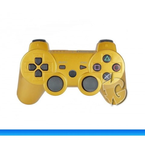 Беспроводной контроллер для PS3 (Gold)