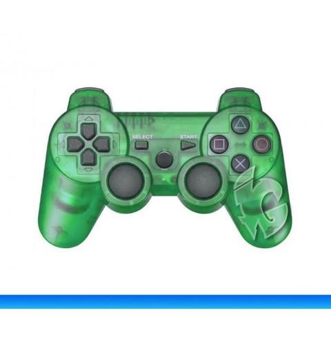 Беспроводной контроллер для PS3 (TransparentGreen)
