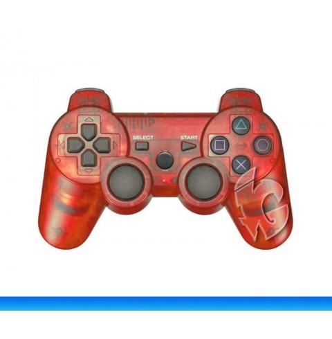 Беспроводной контроллер для PS3 (TransparentRed)
