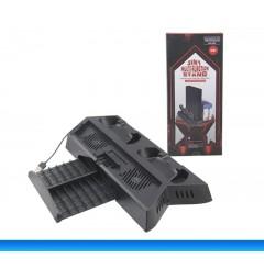 Охлаждающая подставка для PS4 с зарядкой контроллеров (KJH)