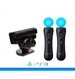 Камера PSEye + 2 контроллера PS Move (PS3)