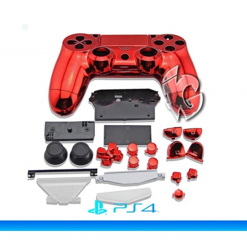 Корпус для DualShock 4 v2 (Mirror Red)