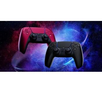 PS5: новые фотографии черного и красного контроллеров DualSense демонстрируют окончательный дизайн