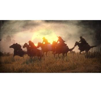 Red Dead Redemption 2:Лошадь NPC мстит за смерть своего хозяина.