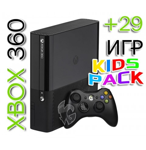 XBOX 360E 250GB (Freeboot) + 29Игр