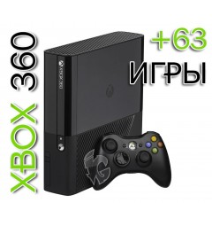 XBOX 360 E 500GB (Freeboot) + 63 Игры
