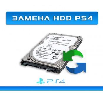 КАК СМЕНИТЬ HDD НА PS4
