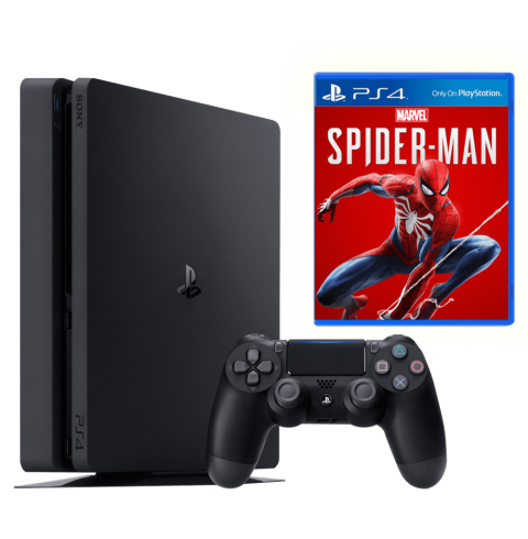 PlayStation 4 Slim 1 Tb + диск Marvel's Spider-man