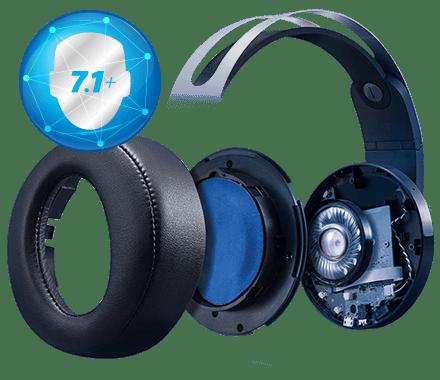 Гарнитура Sony PlayStation Platinum Wireless Head-set