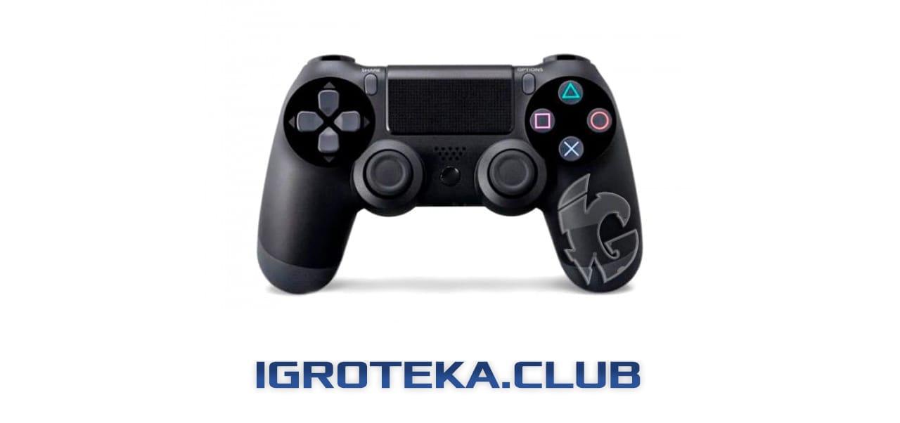 геймпад DualShock4 V2 в цвете Black