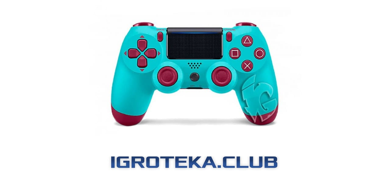 геймпад DualShock4 V2 в цвете Blue Berry