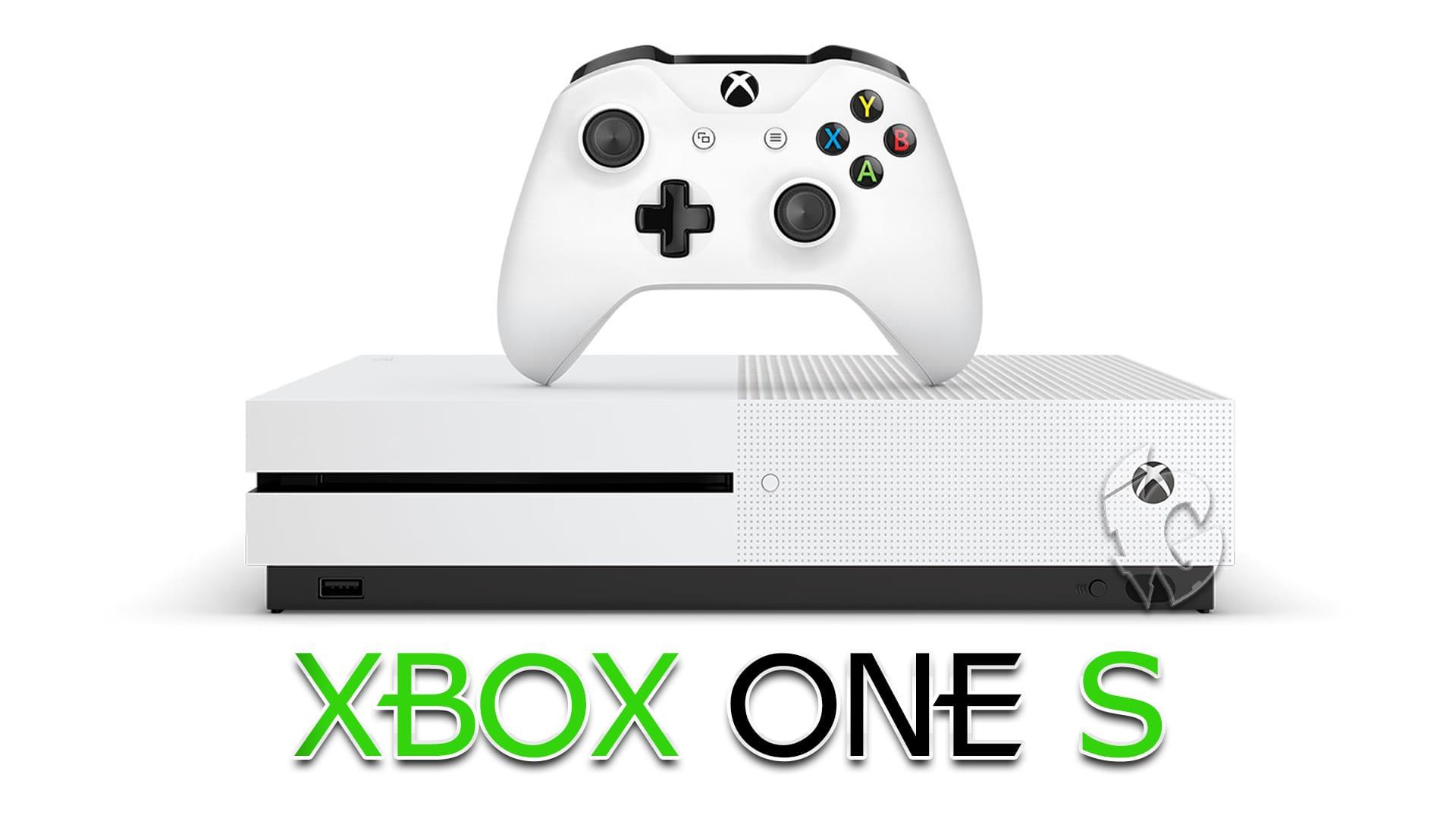 Белая Игровая Консоль XBOX One S